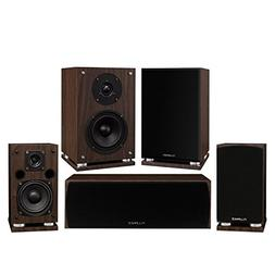 Fluance Elite Series Compact Surround Sound Home Theater 5.0