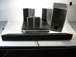 Complete Sony Surround Sound System DAV-HDX275 5-disk Player