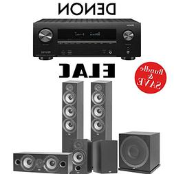 Elac F6.2 Debut 2.0 5.1-Ch Home Theater Speaker System with
