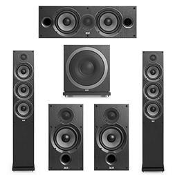 Elac Debut 2.0-5.1 System with 2 F6.2 Floorstanding Speakers
