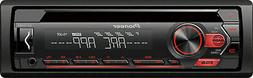 PIONEER DEH-S1200UB CD USB AUX 200W AMP CAR STEREO ANDROID C