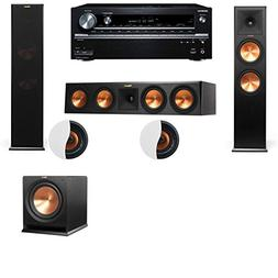 Dolby Atmos 3.1.2 Klipsch RP-280F Tower Speakers R112SW with