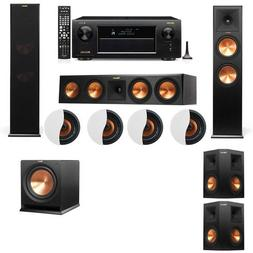 Dolby Atmos 5.1.4 Klipsch RP-280F Tower Speakers R112SW with