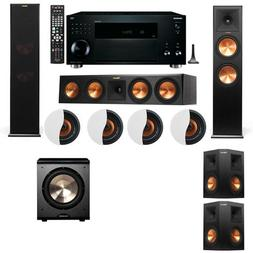 Dolby Atmos 5.1.4 Klipsch RP-280F Tower Speakers PL-200 with