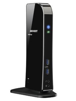 Dynadock Universal Docking Station W/ Dual Hd Video Usb 3.0