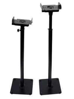 VideoSecu Floor Speaker Stand One pair for Satellite Surroun