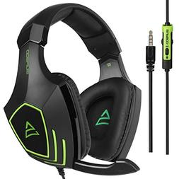 SUPSOO G820 New Xbox one mic PS4 Gaming Headset 3.5 mm Wired