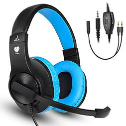 Gaming headset SL-300 with mic for PS4, Xbox one, PC, Comput