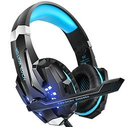 INSMART Gaming Headset, PS4 Headset with Noise Reduction, LE