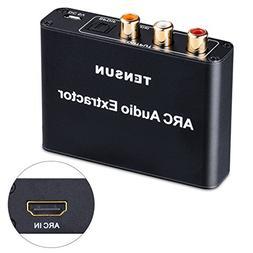 Tensun HDMI ARC Adapter, Optical Audio Extractor Split Conve