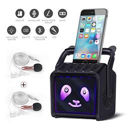 Lemebo Karaoke Bluetooth Rechargeable Machine & Portable PA