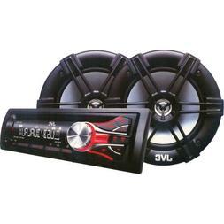 JVC JVC KD-PKR430 Combo CD Reciever/ Speaker System KDPKR430