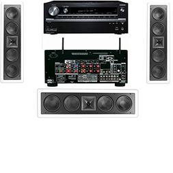 Klipsch KL-6504-THX In-Wall LCR Speaker Onkyo TX-NR838 7.2 C