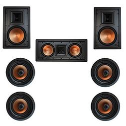 Klipsch 7.0 In-Wall System with with 2 R-5800-W II In-Wall S