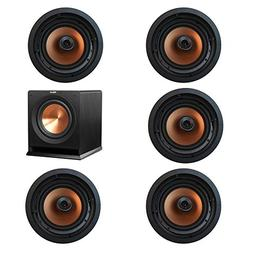 Klipsch 5.1 In-Wall System with with 5 CDT-5800-C II In-Ceil