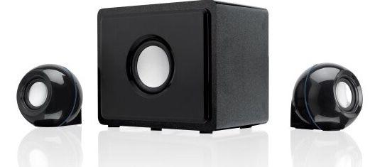 GPX 2.1 Channel Home Theater System with Subwoofer, Black, H