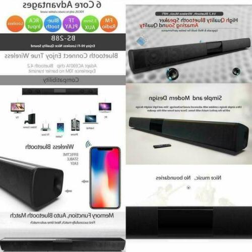 2020Surround Sound Speaker System Wireless Subwoofer