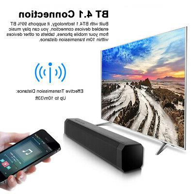 3D Surround Bar Speaker Subwoofer Bluetooth Soundbar J9G5