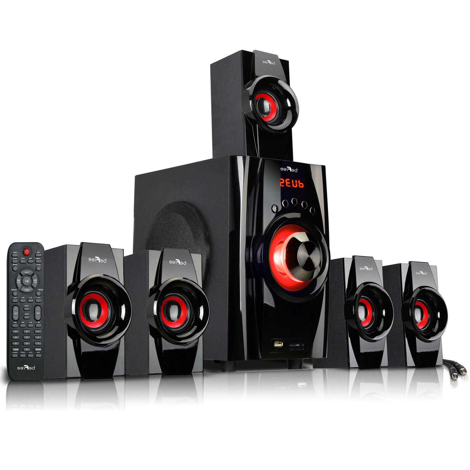 5.1 CHANNEL BeFree SOUND BFS-410  SURROUND SOUND BLUETOOTH S