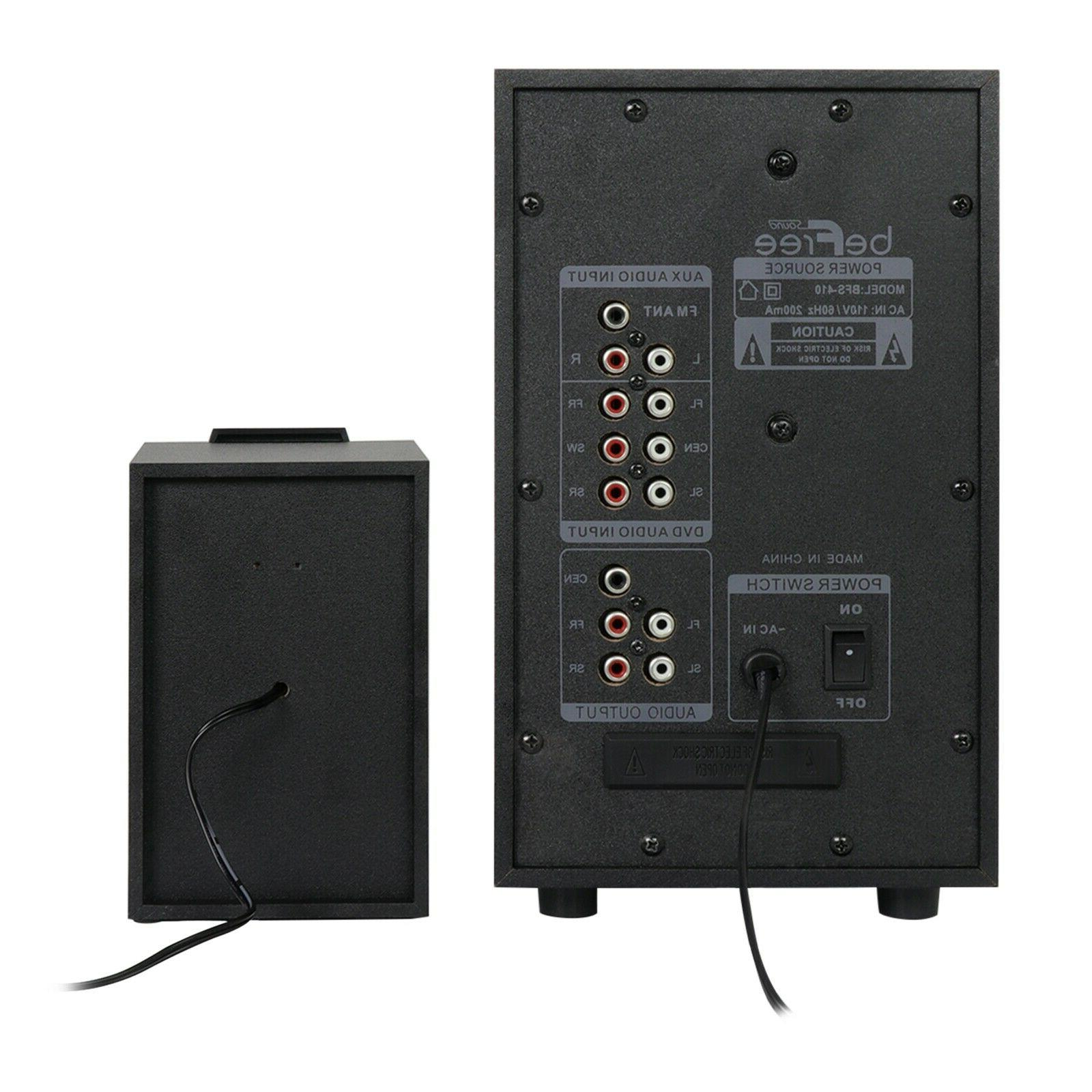 NEW SURROUND BLUETOOTH THEATER SYSTEM