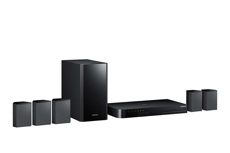 Samsung 5.1 Channel Home Theater System Surround Sound Blu-R