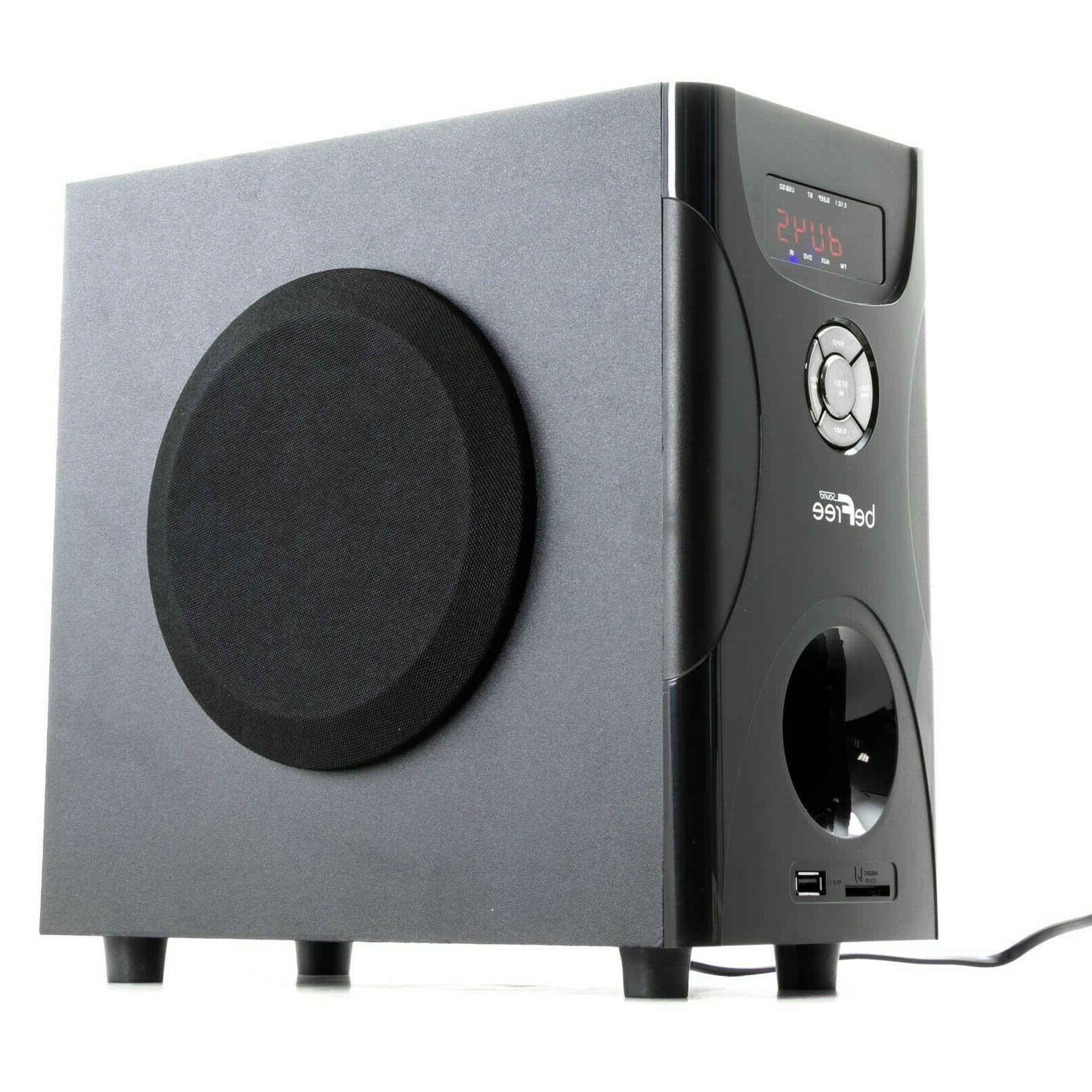 beFree 5.1 Surround Sound Speaker w USB FM