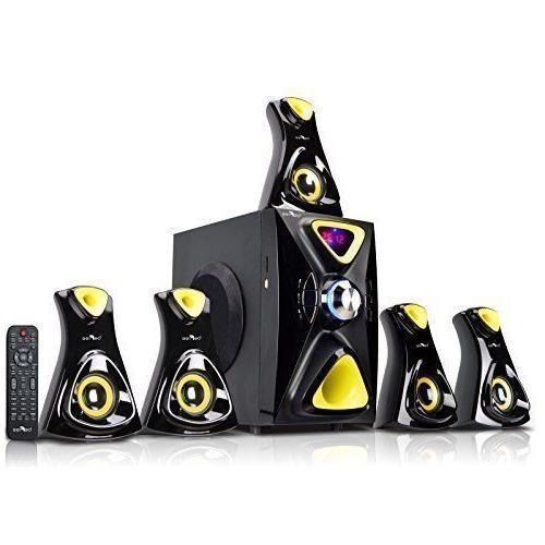 5 1 channel yellow surround sound bluetooth