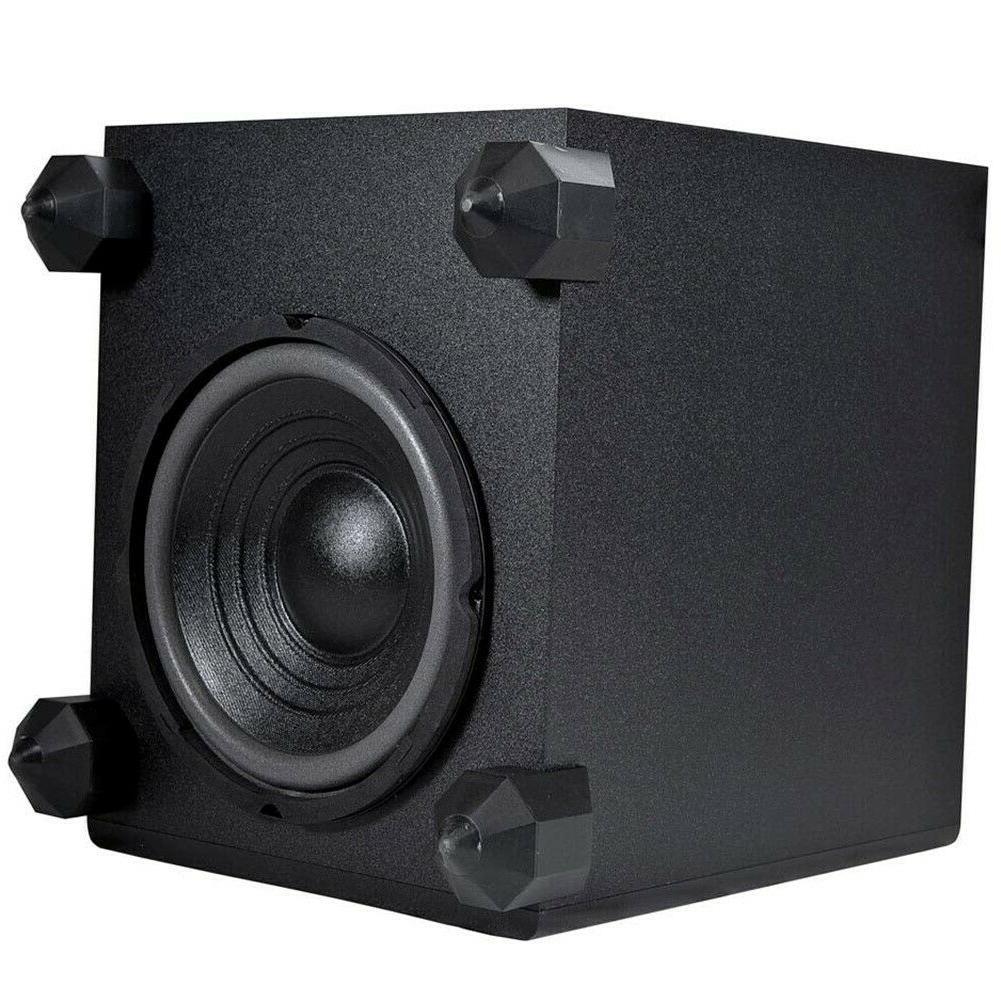 5.1 Speaker Theater Surround Satellite Speakers 1 Subwoofer