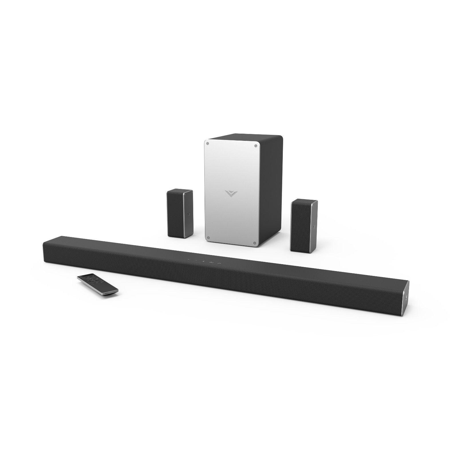 Vizio 5.1 Surround Sound Bar Speaker System Wireless Subwoof