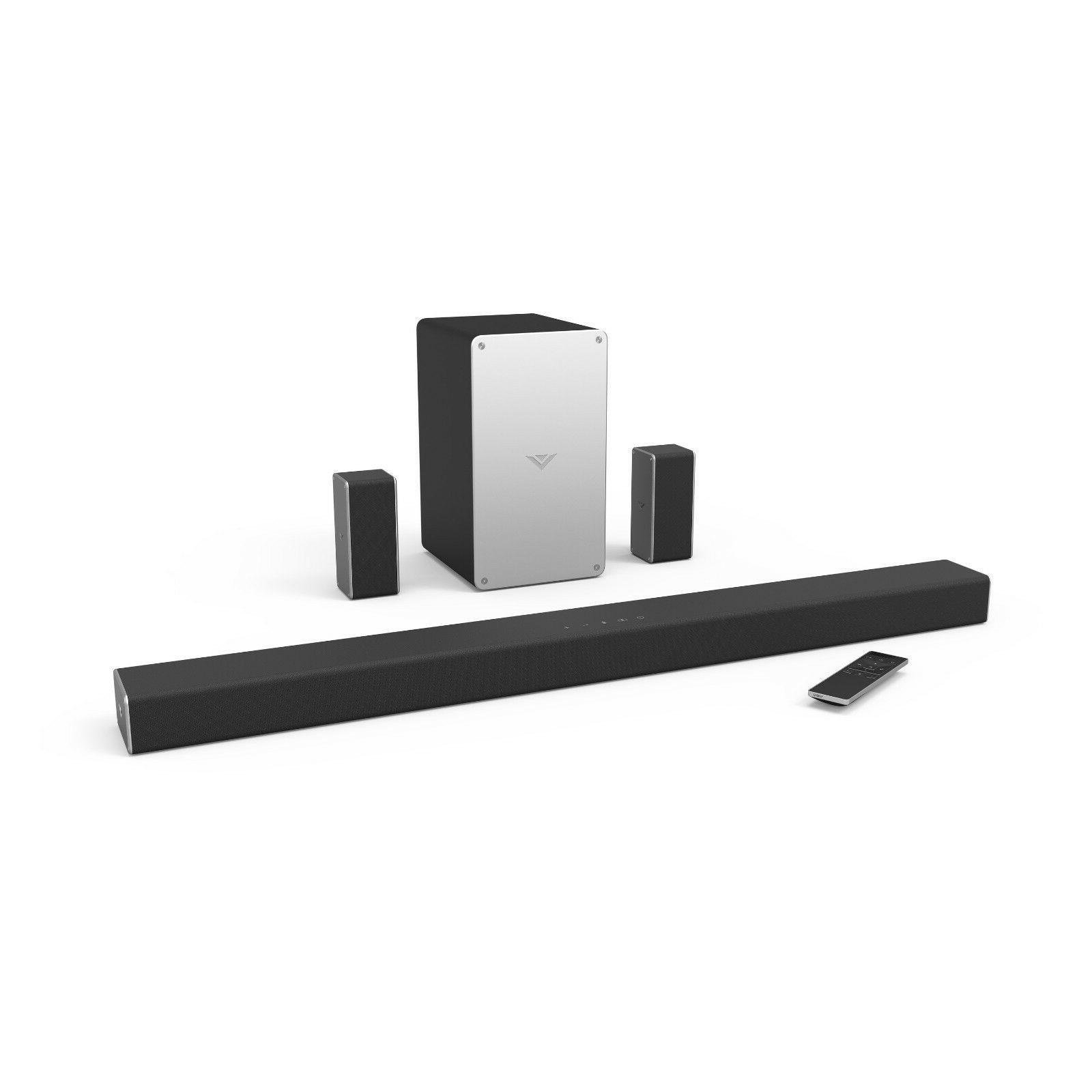 Vizio 5.1 Surround Bar Speaker Subwoofer Bluetooth For