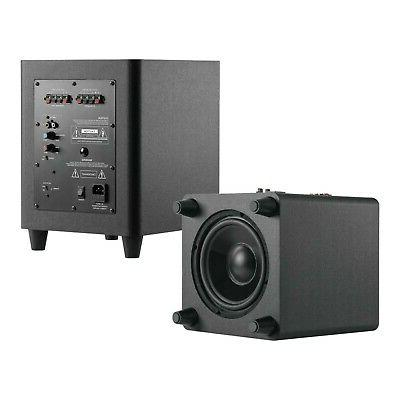 """TDX 5.1 Sound Home System, 8"""" In-Wall Speakers, 12"""" Subwoofer"""