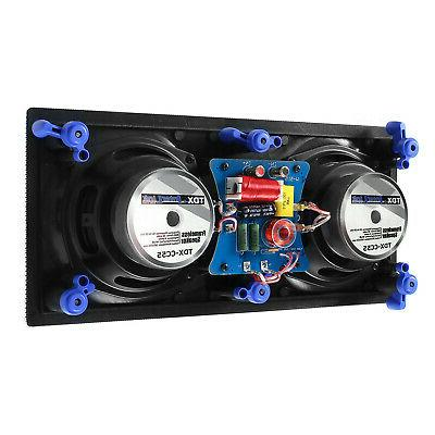 """TDX 5.1 Sound Home System, 8"""" In-Wall Speakers,"""