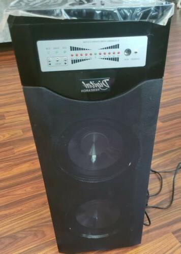 Vintage Digital Research 5.1 surround system w/ subwoofer