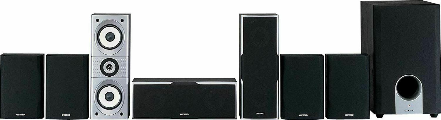 7.1 Channel Home Theater Speaker System Set Surround Sound P