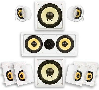 Acoustic Audio HD725 7.2 Home Theater Speaker System