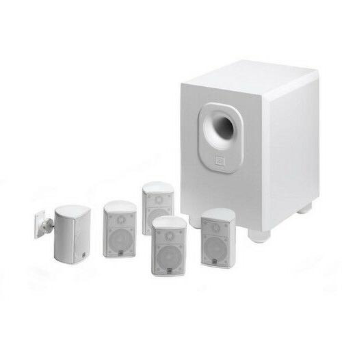 Leviton AEH50-WH Architectural Edition Powered By JBL 5-Chan