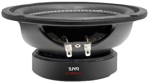 Pyle Car Speaker - Paper Steel Basket, 4 Ohm Impedance, 800 Watt Power and Surround Sound
