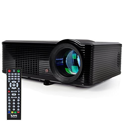 "Pyle Updated Video Projector 5"" - LCD Panel LED Cinema Hom"
