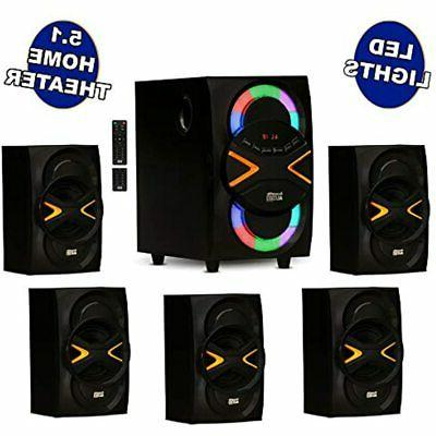 acoustic audio aa5210 home theater