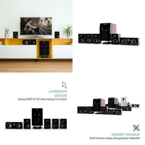 Areal Active 5.1 Surround Sound Speaker System Home Cinema B