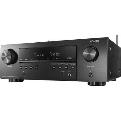 Denon AVR-S640H Audio Video Receiver, 5.2 Channel 4K Ultra H