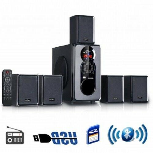 BEFREE BFS455 5.1 CHANNEL SURROUND SOUND BLUETOOTH HOME THEA