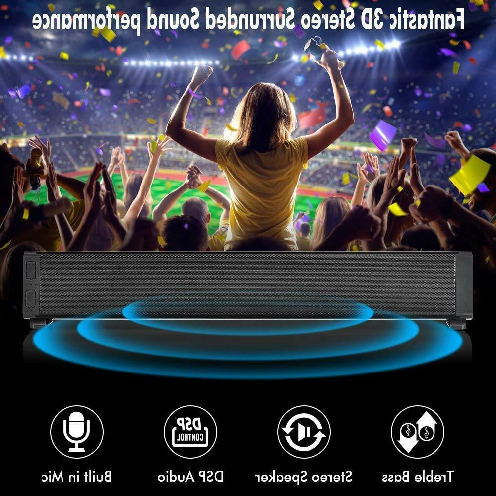Best Bluetooth Surround Sound System For TV Stereo Full Bar