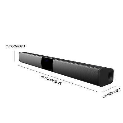 Bluetooth Soundbar Speaker System 3D Sound