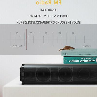 Bluetooth Wireless Sound Bar System Home Subwoofer