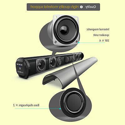 Bluetooth Wireless Surround Bar 4 Home Subwoofer