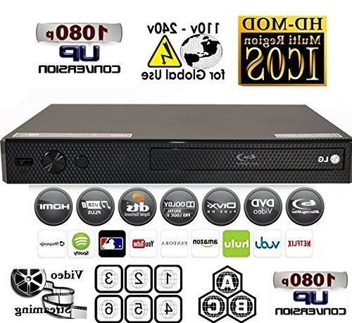 LG BP255 Multi Blu DVD + cable & bundle