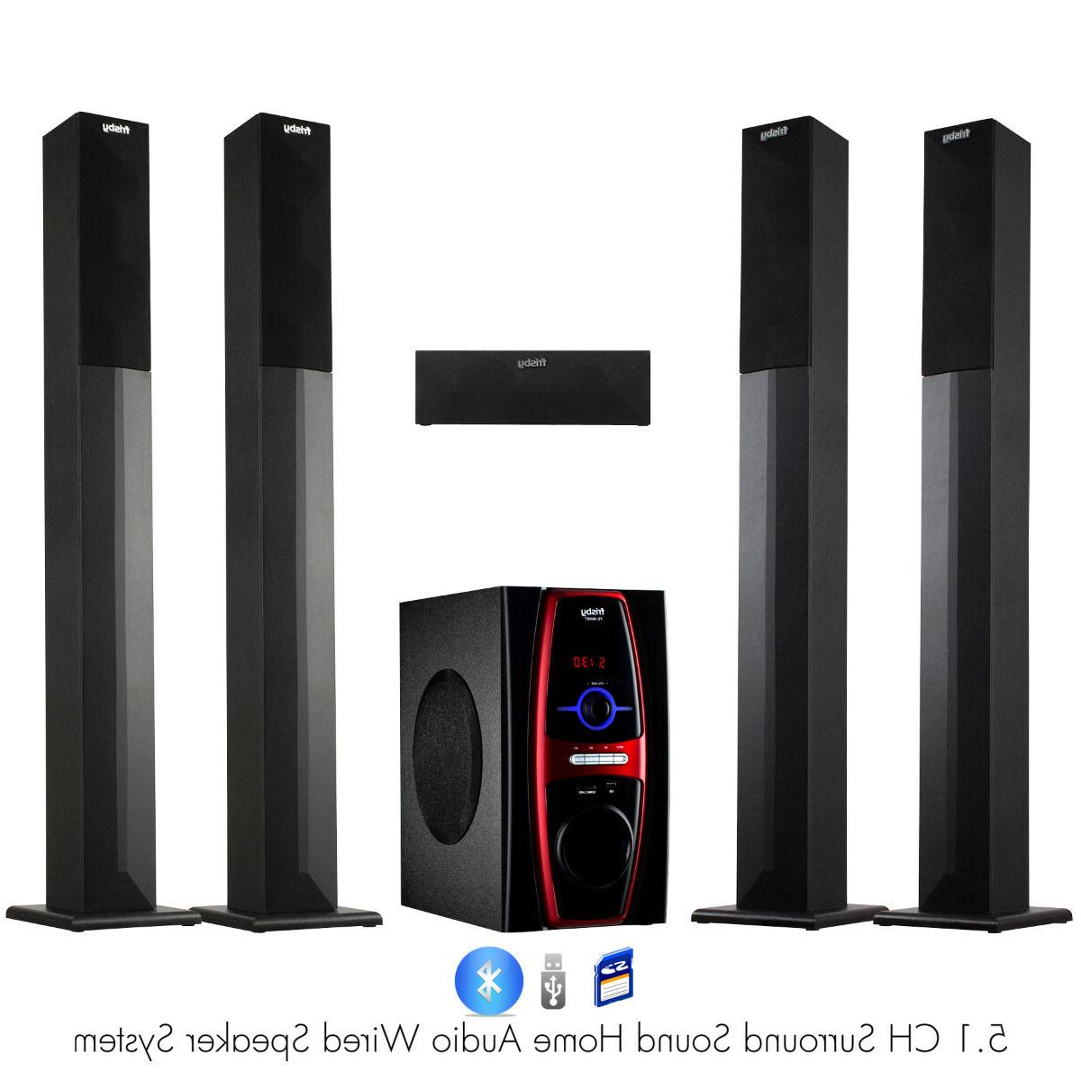 Frisby FS-6600BT 5.1 Channel Home Theater System w/ Surround