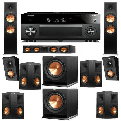 home theater system surround sound center channel