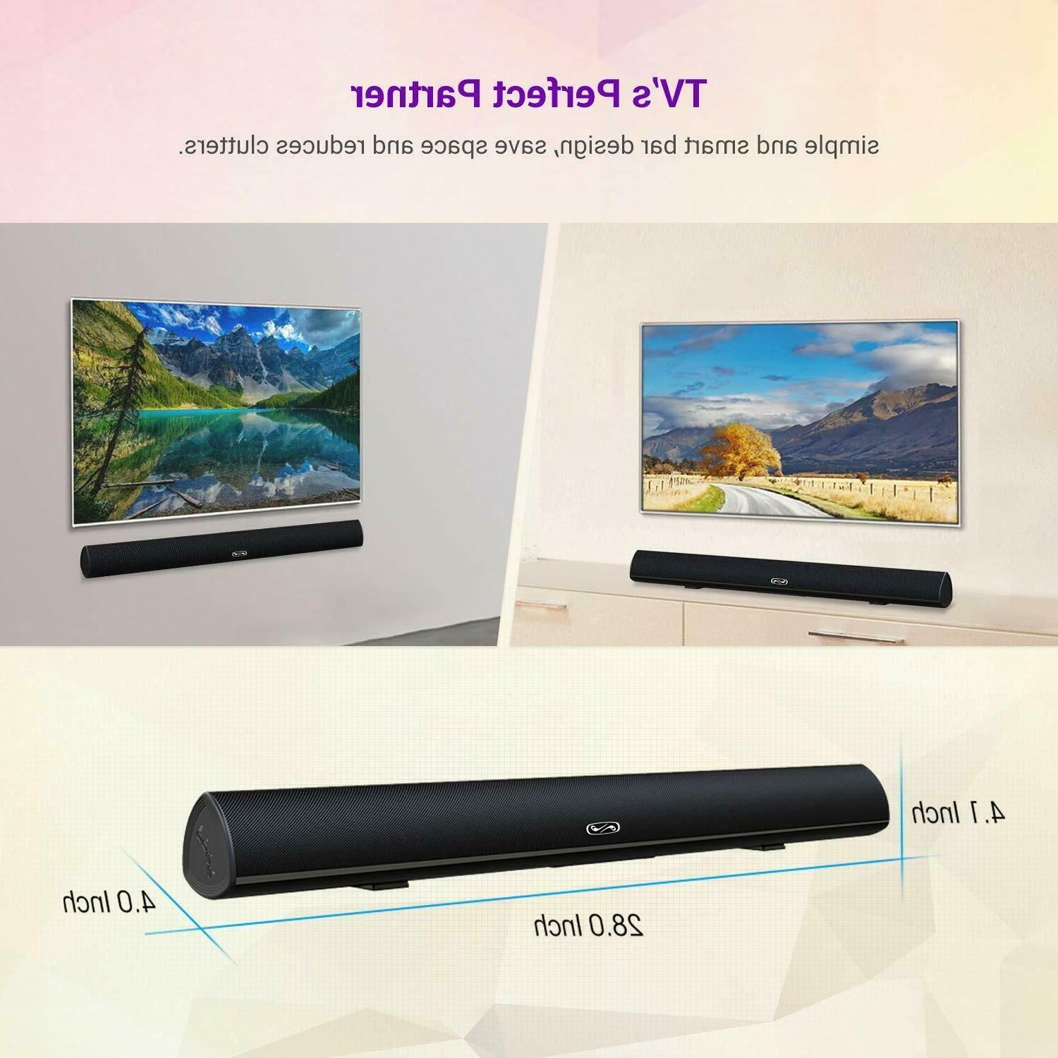 Home System Surround Sound TV, PC, Tablet